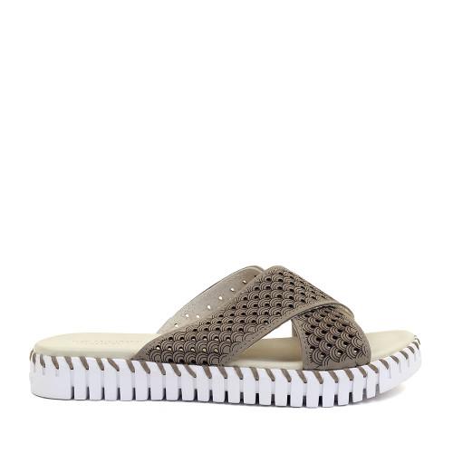 Ilse Jacobsen Tulip Sandal Falcon side view - Hanig's Footwear