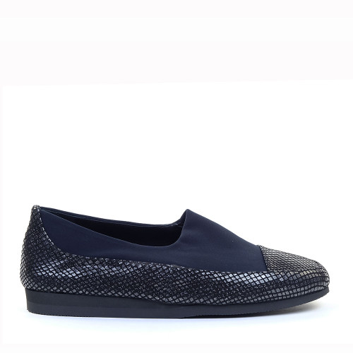 Thierry Rabotin Genziana 2412 Blue side view - Hanig's Footwear