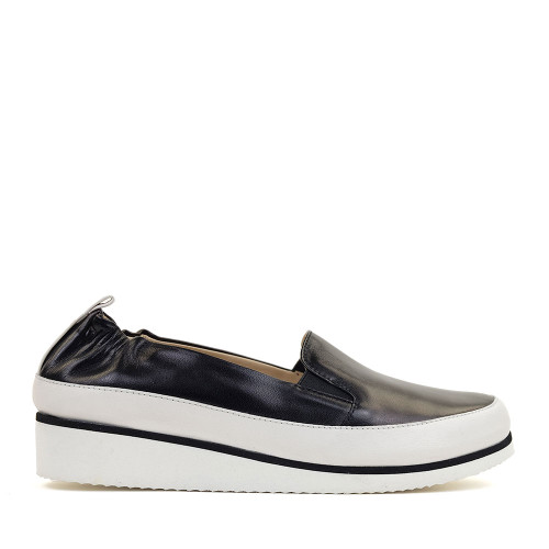 Ron White Nell Onyx side view - Hanig's Footwear