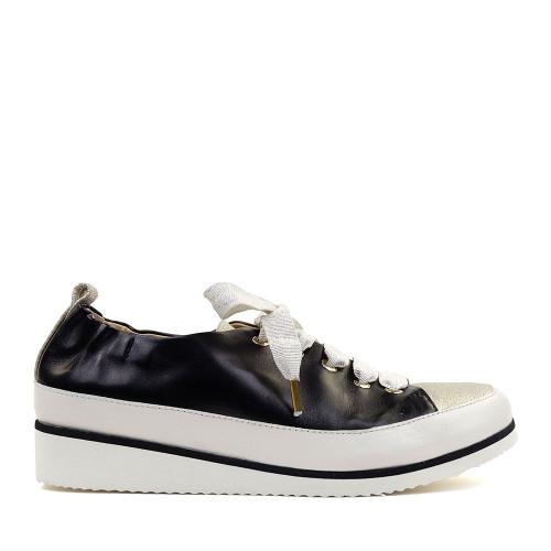 Ron White Nova Onyx side view - Hanig's Footwear