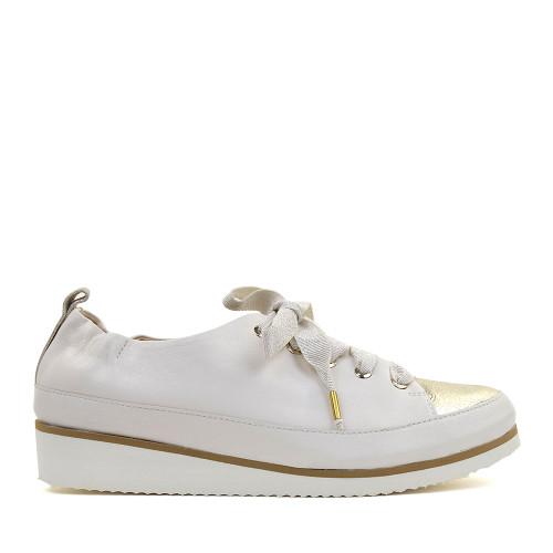 Ron White Nova Ice Platino side view - Hanig's Footwear