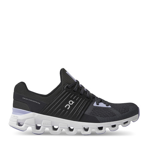 ON Running Cloudswift Lavender Womens side — Hanigs Footwear