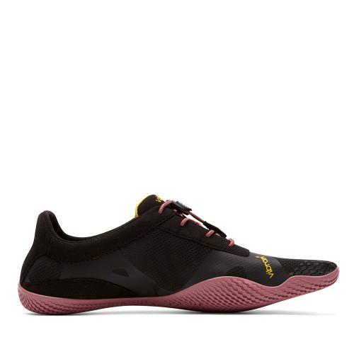 Vibram KSO EVO Black/Rose side view - Hanig's Footwear