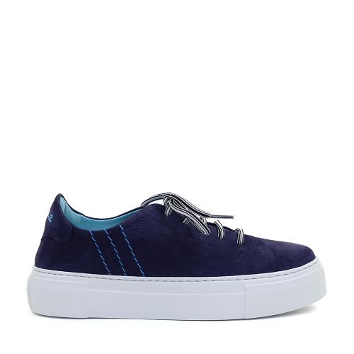 Thierry Rabotin Anna G0001 Blue side view - Hanig's Footwear