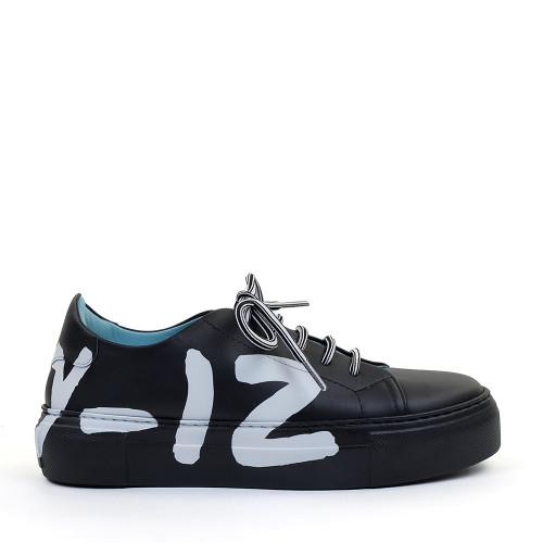 Thierry Rabotin Ariel G0014 Black side view - Hanig's Footwear