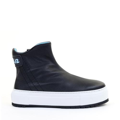 Thierry Rabotin Altea G0017 Black side view - Hanig's Footwear
