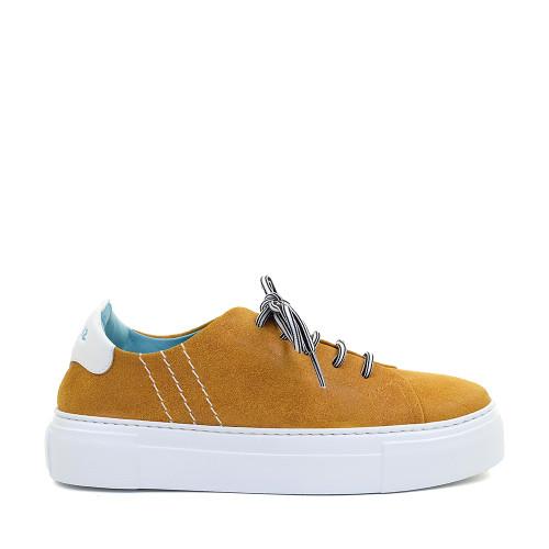 Thierry Rabotin Anna G0001 Orange side view - Hanig's Footwear