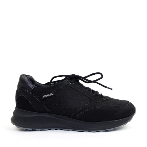 Mephisto Kelia 6900 Black side view - Hanig's Footwear