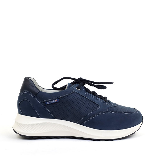 Mephisto Kelia 6995 Jeans Blue side view - Hanig's Footwear