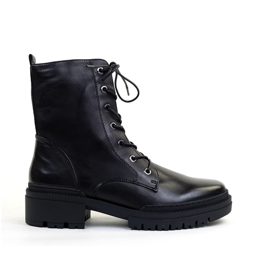 Regarde le Ciel Payton Black side view - Hanig's Footwear