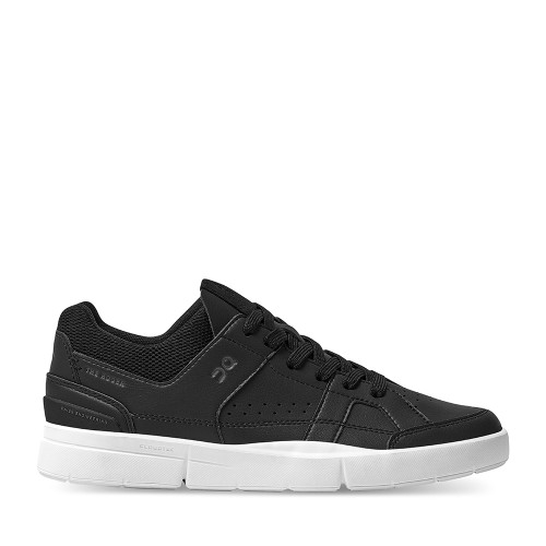 On Running Roger Clubhouse Black side view mens - Hanig's Footwear