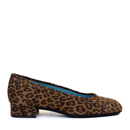 Thierry Rabotin Nabk S300 Olive Leopard side view - Hanig's Footwear
