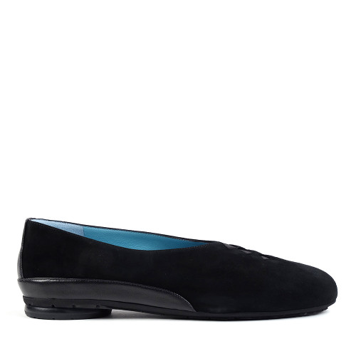 Thierry Rabotin Grace 7410 Black Suede side view