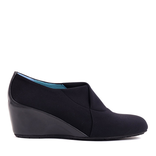 Thierry Rabotin Delilah 5205 Black Peach side view | Hanig's Footwear