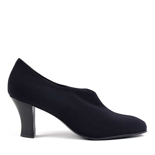 Thierry Rabotin Flair 8265 Black Fabric side view - Hanig's Footwear