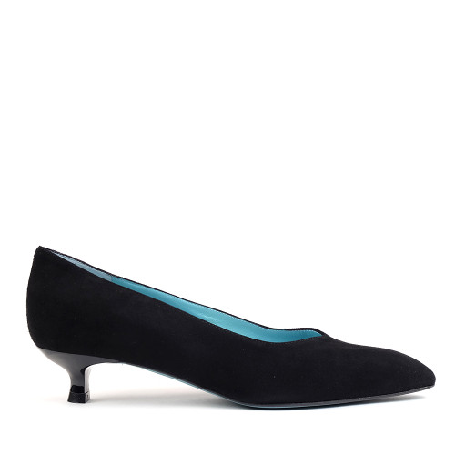 Thierry Rabotin Princesse C351 Black Suede side view
