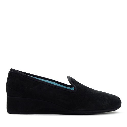 Thierry Rabotin Ziggy 1440MN Black Suede side view