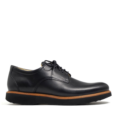 Samuel Hubbard Founder Plain Toe Black side view
