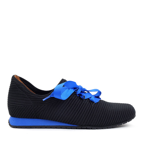 Lamour Des Pieds Taimah Black/Blue side view