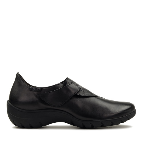 Mephisto Luce Black Silk side view