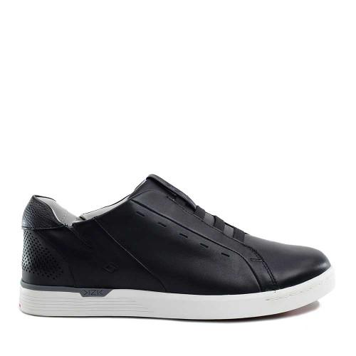 Kizik New York Black side view - Hanig's Footwear