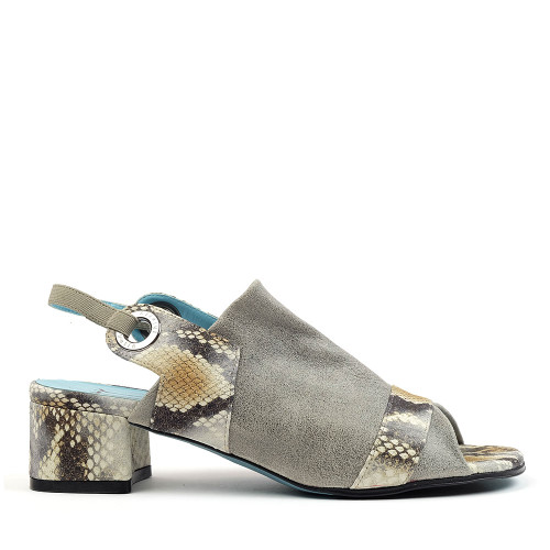 Thierry Rabotin Britney 2775 Grey/Gold side view