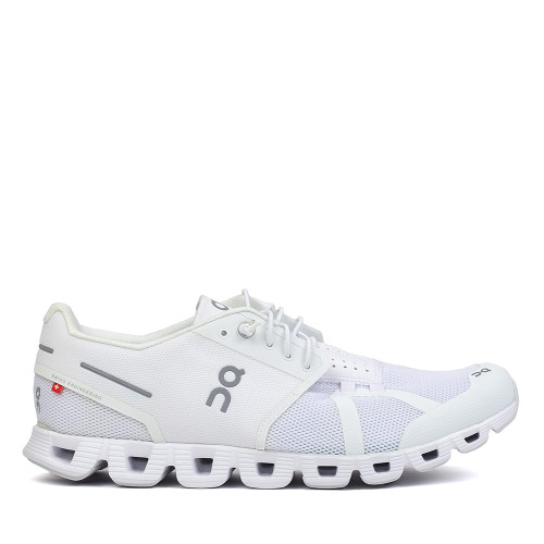 On Running Cloud Men all white side view