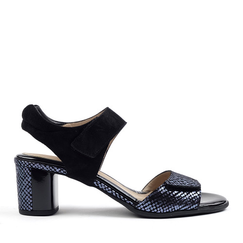 Beautifeel Marnie Black Indigo side view — Hanig's Footwear