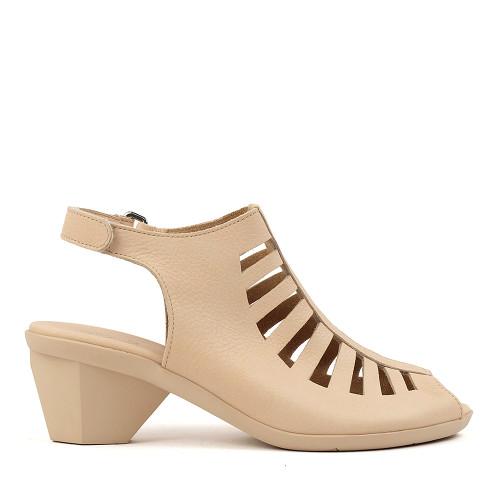 Arche Enexor Nude side view — Hanigs Footwear