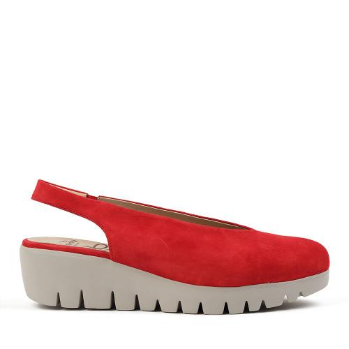 Wonder's C-33124 Red side view — Hanig's Footwear