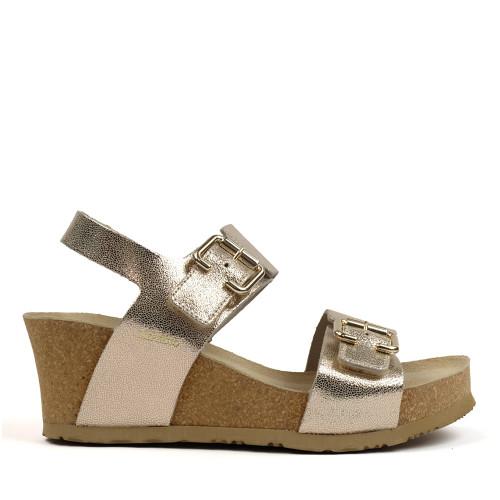 Mephisto Lissandra Platinum side view - Hanigs Footwear