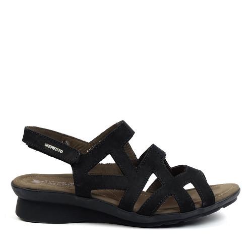 Mephisto Pamela Black side view - Hanig's Footwear