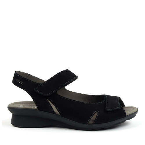 Mephisto Perry black side view - Hanig's Footwear
