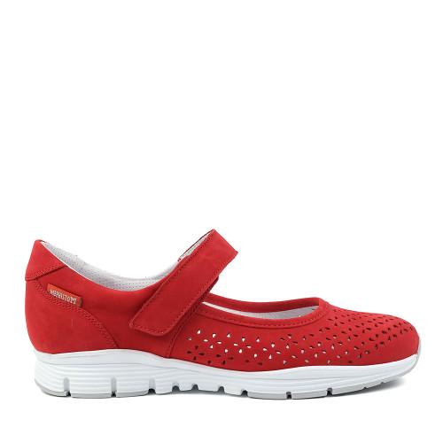 Mephisto Yelina Scarlet side - Hanig's Footwear