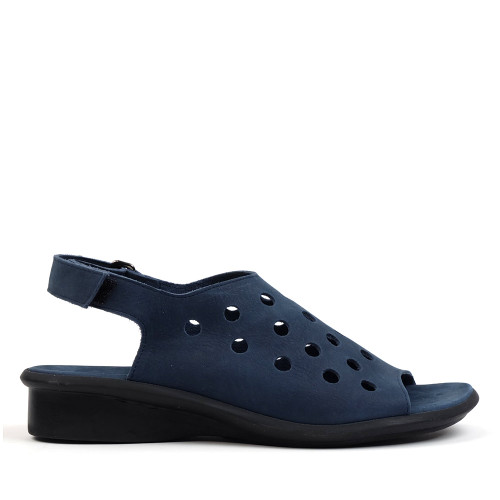 Arche saotto navy  side view — Hanigs Footwear