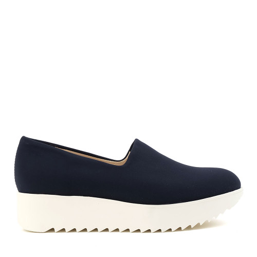 Peter Kaiser 29393-111 Navy side view — Hanigs Footwear