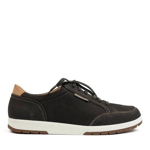 Mephisto Ludo Graphite side view - Hanigs Footwear