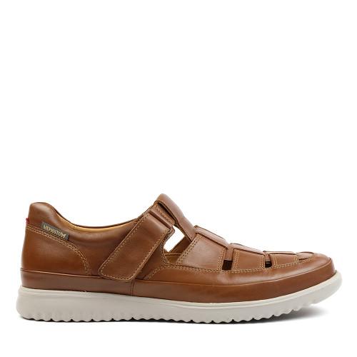Mephisto Tarek 6135 Hazelnut side view - Hanigs Footwear