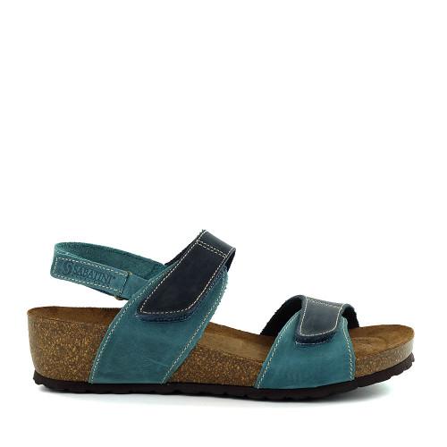 Sabatini 4006 Jeans Sandal side view - Hanigs Footwear