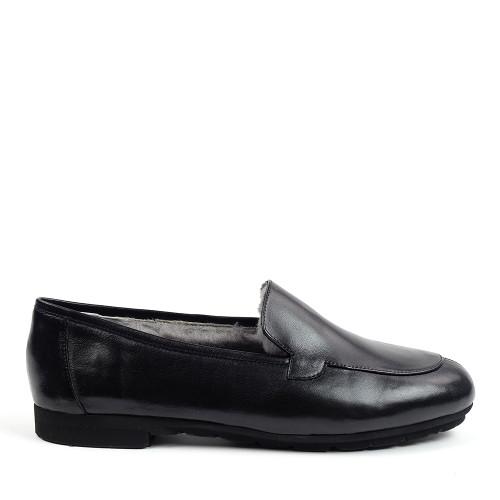 Thierry Rabotin Bosco 1831MD Black side view - Hanig's Footwear