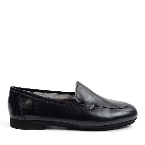 Thierry Rabotin Bosco 1831MD Black side view - Hanig's Footwear