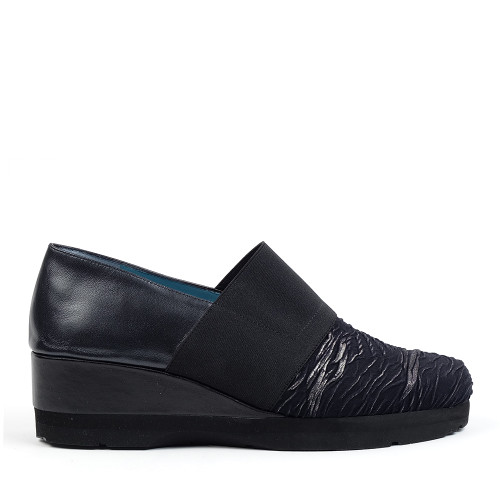 Thierry Rabotin Davide 3545 Black Yohgi side view - Hanig's Footwear