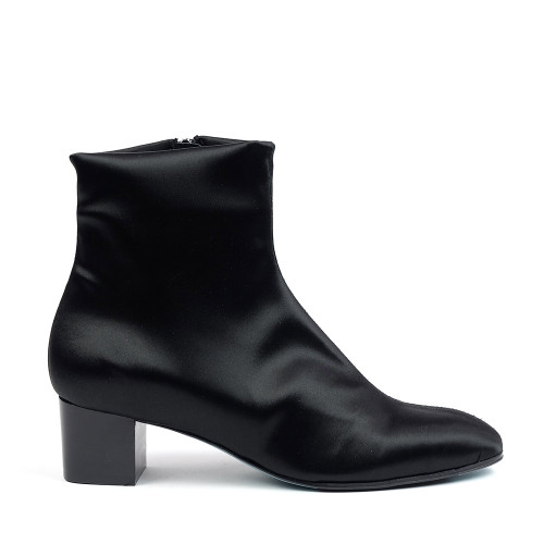 Thierry Rabotin Esther 4522 Black Techno side view — Hanig's Footwear