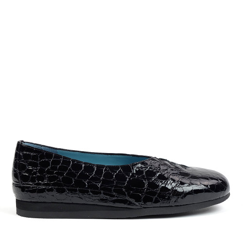Thierry Rabotin Grace 7410 Black Drillo side view - Hanig's Footwear