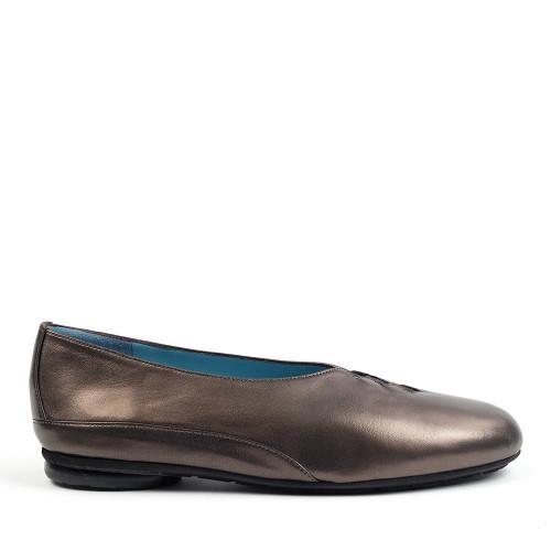Thierry Rabotin Grace 7410 Bronze Taffetas side view - Hanig's Footwear