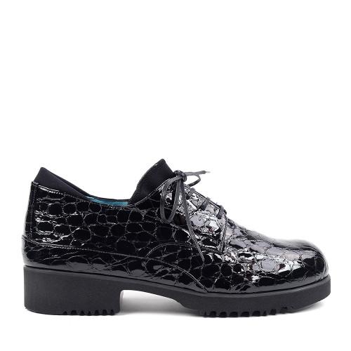 Thierry Rabotin Zeke 7813 Black Drillo side view - Hanig's Footwear
