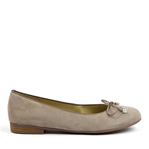 Ara Scout Taupe side view - Hanig's Footwear