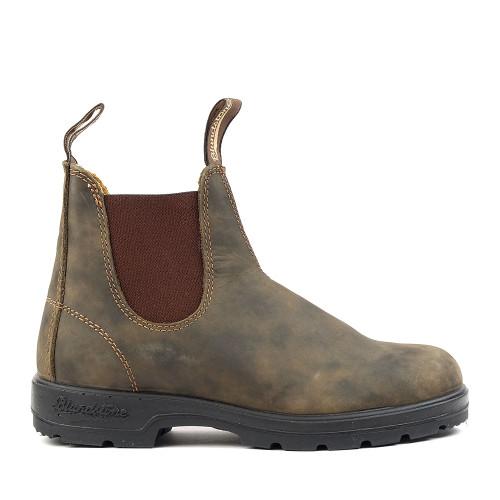 Blundstone 585 Rustic Brown womens side view - Hanig's Footwear
