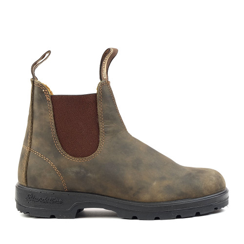 Blundstone 585 Rustic Brown womens side view - Hanig's Footwear