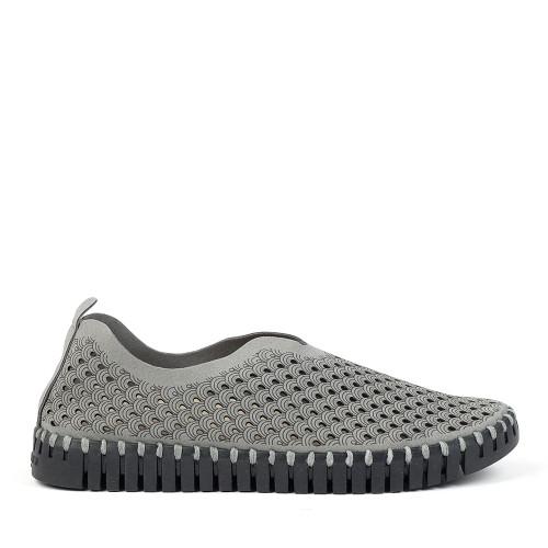 Ilse Jacobsen Tulip 3575 Grey side view - Hanig's Footwear